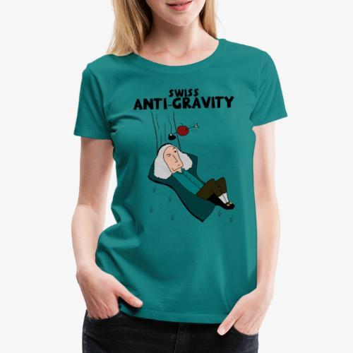 Swiss Anti-Gravity Final - Frauen Premium T-Shirt