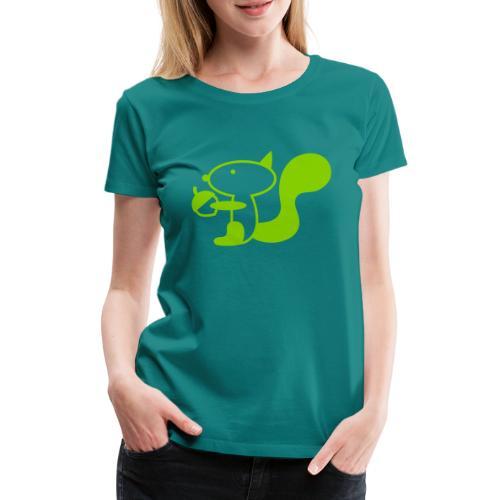 squirrelbw - Vrouwen Premium T-shirt