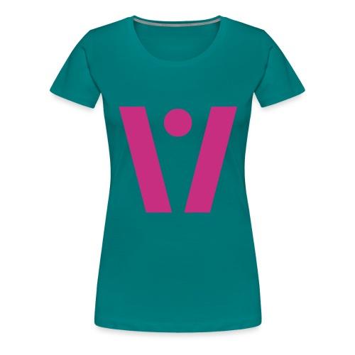 VAG*NA - Premium-T-shirt dam