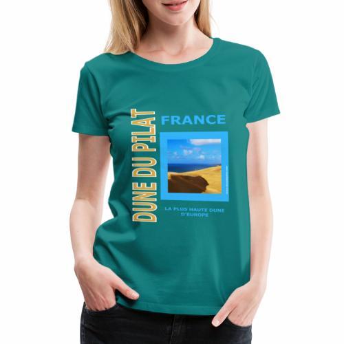 Dune du Pilat - Tshirt, tasses, masque ... - T-shirt Premium Femme