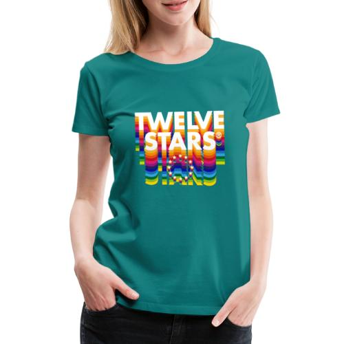 TWELVE STARS® EURO RETRO - Women's Premium T-Shirt