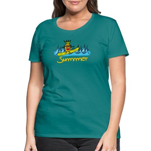 Ananas Summer - Frauen Premium T-Shirt