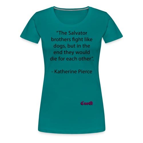 The Salvator brothers - Premium-T-shirt dam