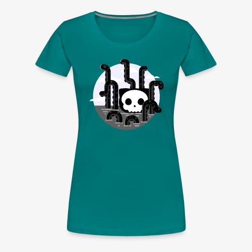 Cat octopus | Monster cat Github | Css | Web - Women's Premium T-Shirt
