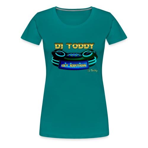 DJ TODDY 1st EDITION (Blau) Limitierte Edition - Frauen Premium T-Shirt