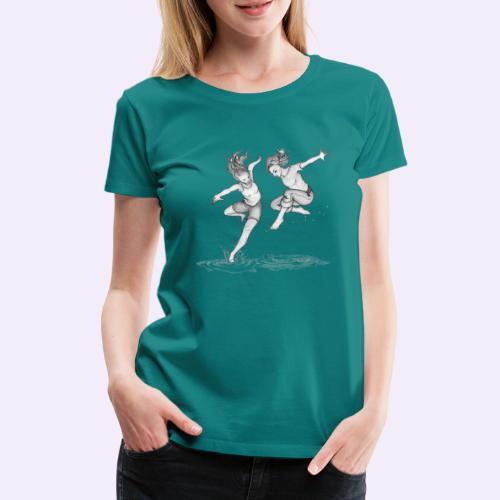 Hexenschwestern - Frauen Premium T-Shirt