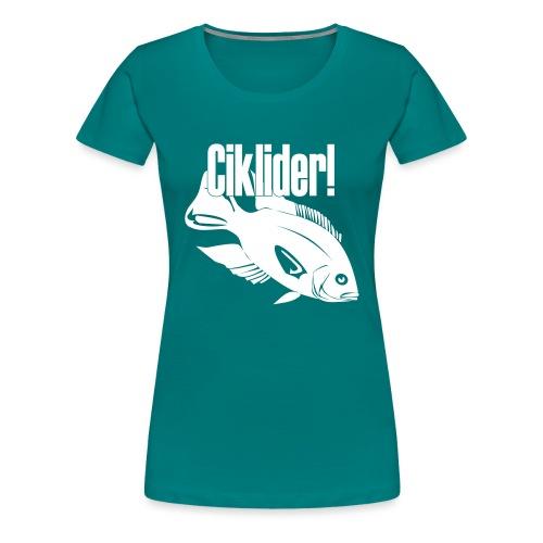 Ciklider - Premium T-skjorte for kvinner