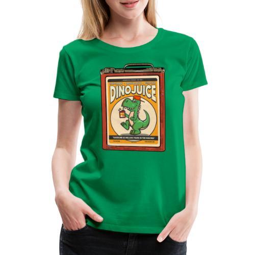 Dinojuice gas canister - Naisten premium t-paita