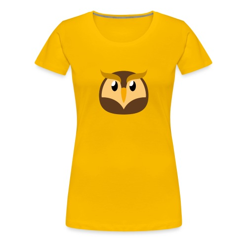 Eule »Schuhu« - Women's Premium T-Shirt