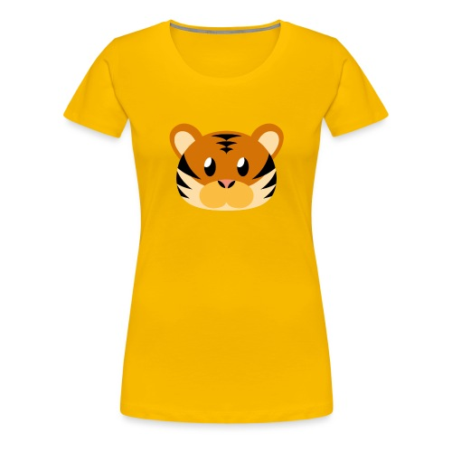 Tiger »Tom« - Women's Premium T-Shirt