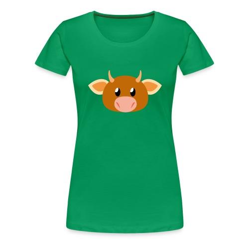 Kuh »Mili« - Women's Premium T-Shirt