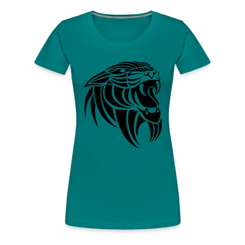 Panthera - Premium T-skjorte for kvinner