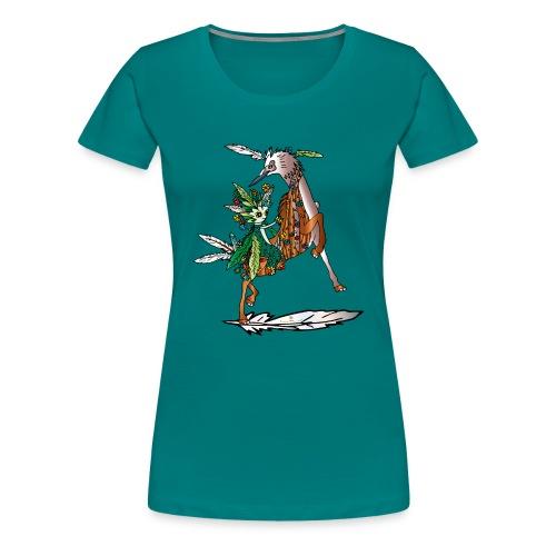 Energiewesen Vagio - Frauen Premium T-Shirt