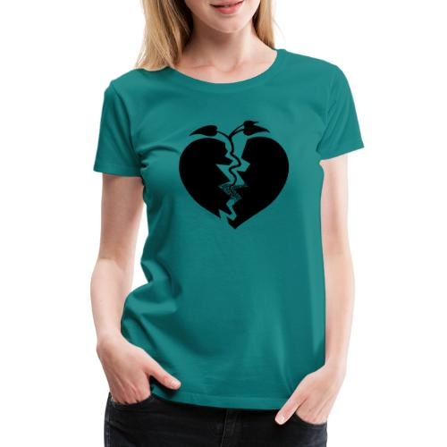 Heart of Hope - Premium-T-shirt dam