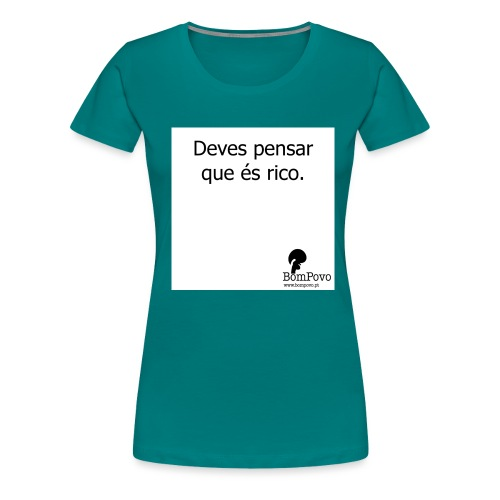 devespensarqueesrico - Women's Premium T-Shirt