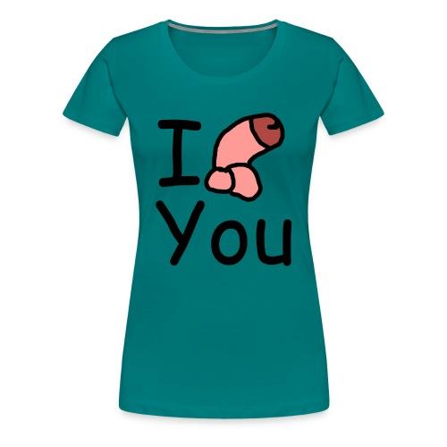I dong you pin - Women's Premium T-Shirt