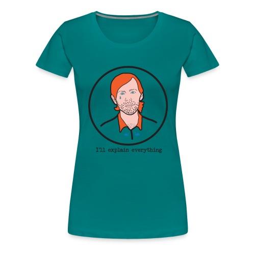 aux geeks - T-shirt Premium Femme