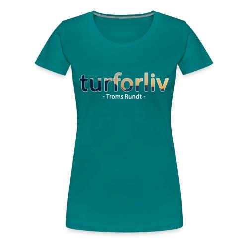 tromsrundt - Premium T-skjorte for kvinner