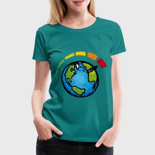 Urgence Climatique - T-shirt Premium Femme