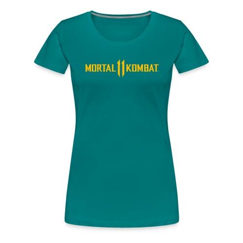Mortal Kombat 11 logo - Women's Premium T-Shirt