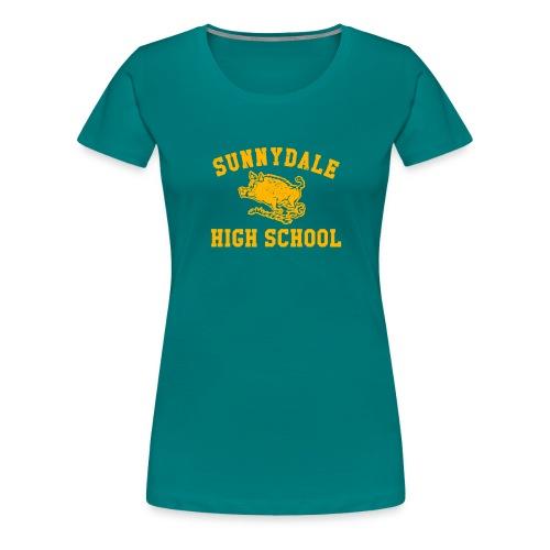 Sunnydale High School logo merch - Women's Premium T-Shirt