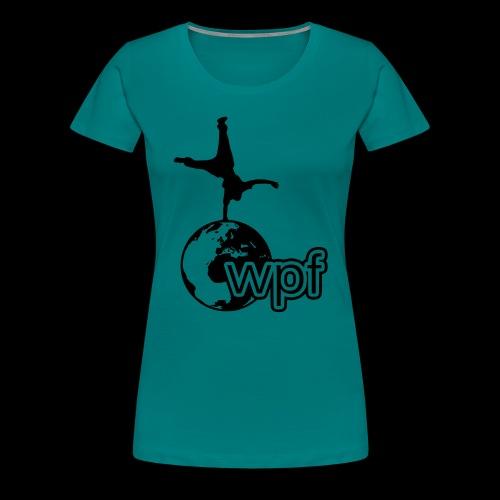 WPF Black - Frauen Premium T-Shirt