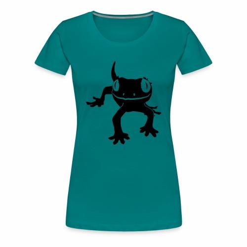 Crested Gecko - Frauen Premium T-Shirt