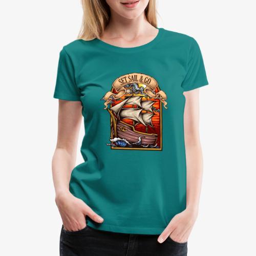 der Explorer - Frauen Premium T-Shirt