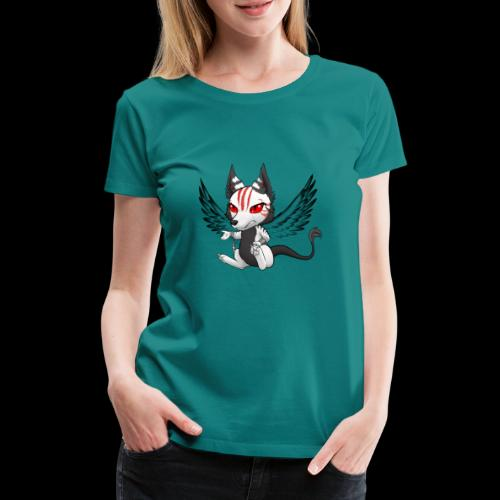 Démon Wolfire - T-shirt Premium Femme