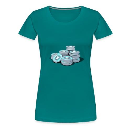 Vbucks - Frauen Premium T-Shirt