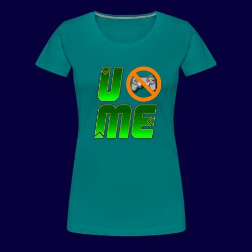 Ucant1-orange - Frauen Premium T-Shirt