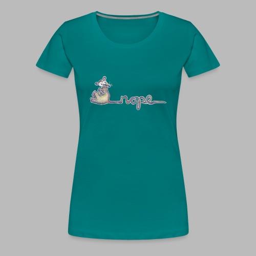 Nope - Women's Premium T-Shirt