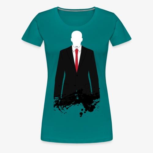 The Hitman - Black Stain - Women's Premium T-Shirt