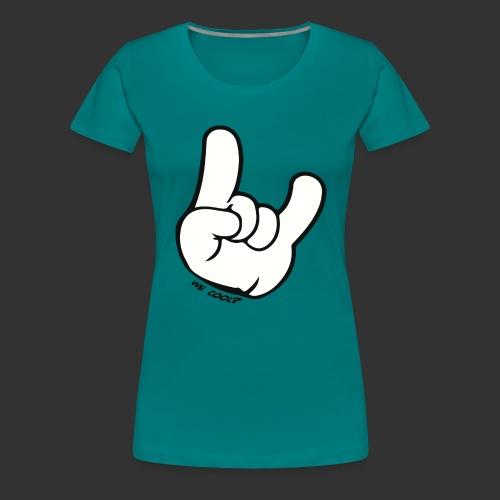we cool - Vrouwen Premium T-shirt