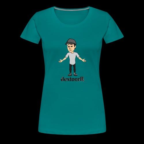 dextoorR - Bitmoji minta - Women's Premium T-Shirt