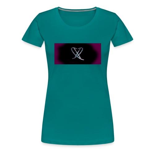 Box_logo_3 - Dame premium T-shirt