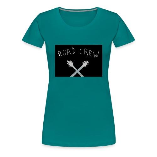 Road_Crew_Guitars_Crossed - Women's Premium T-Shirt