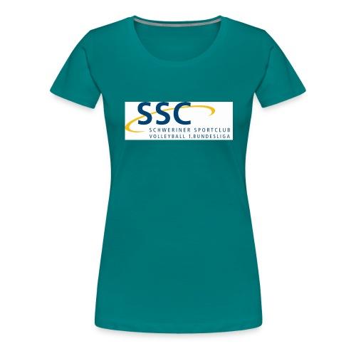 ssclogo 1bl - Frauen Premium T-Shirt
