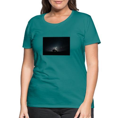 space - Frauen Premium T-Shirt