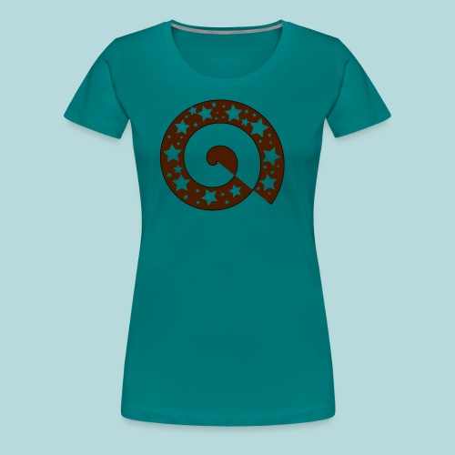 Schnecke B01 - Frauen Premium T-Shirt