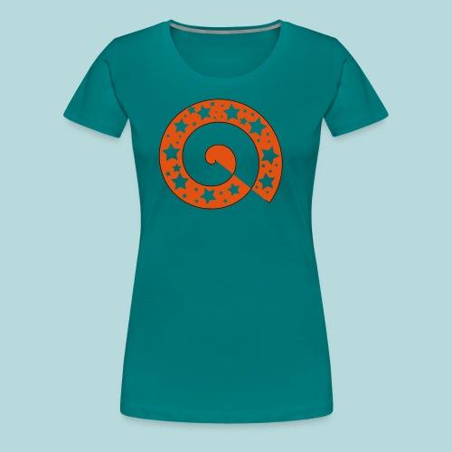 Schnecke O01 - Frauen Premium T-Shirt