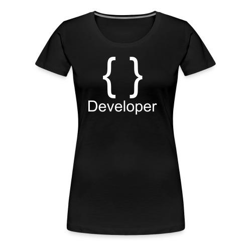 Developer - Frauen Premium T-Shirt