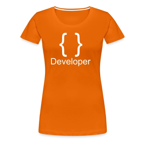 Developer - Frauen Premium T-Shirt