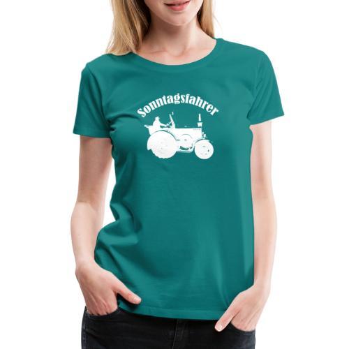 Sonntagsfahrer Landwirt - Frauen Premium T-Shirt