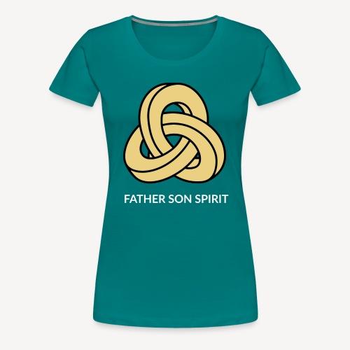 FATHER SON SPIRIT - Women's Premium T-Shirt