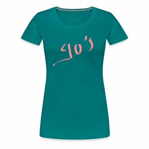 90's - T-shirt Premium Femme
