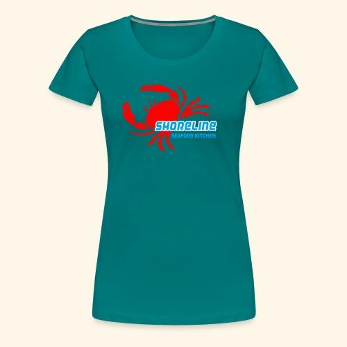 SHORELINE SEAFOOD KITCHEN - Women's Premium T-Shirt