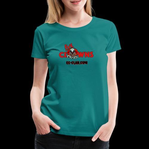 EvilClownsClan black red kontur red - Frauen Premium T-Shirt