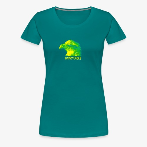 happy eagle - T-shirt Premium Femme