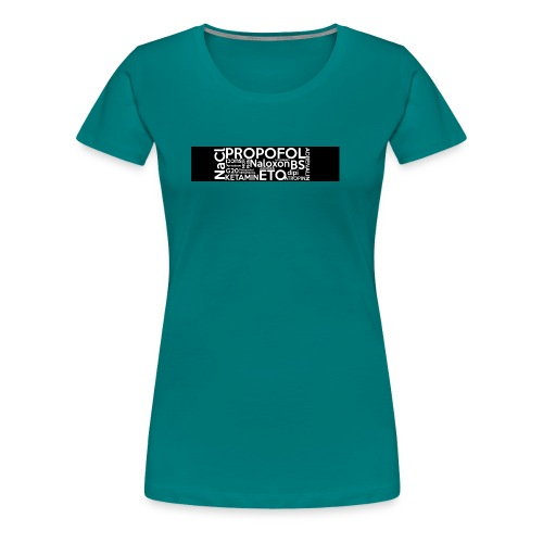 Medikamente - Frauen Premium T-Shirt